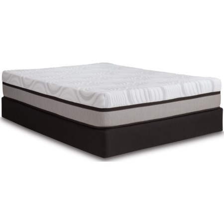 Full Hybrid Mattress LoPro Set