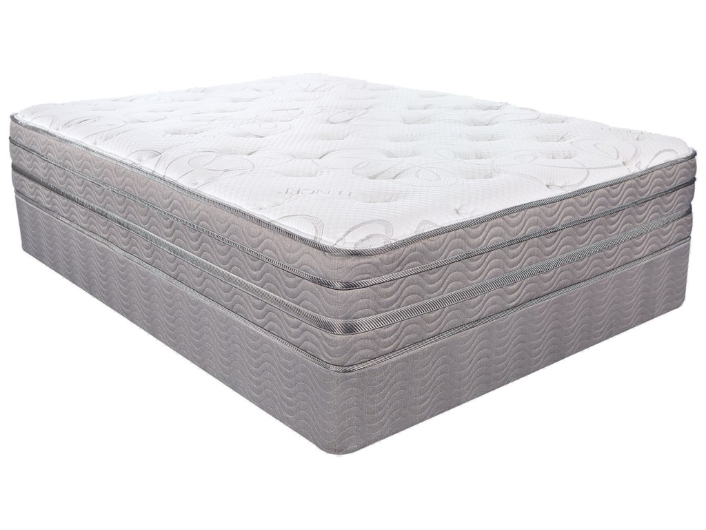 Southerland Bedding Co. Opus ETCal King Pocketed Coil LP Set
