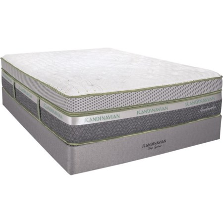 "Full 16 1/2"" Plush Box Top Mattress Set"