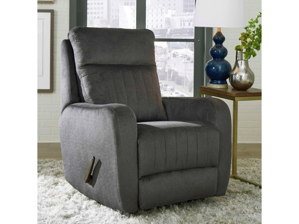 Design to Recline RacetrackLay Flat Recliner