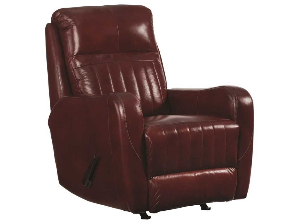 Design to Recline RacetrackRocker Power Recliner