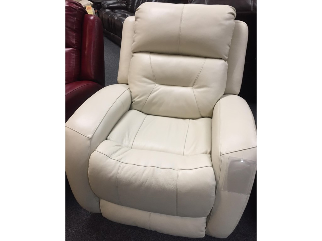 Southern Motion 1316Cream Leather Recliner