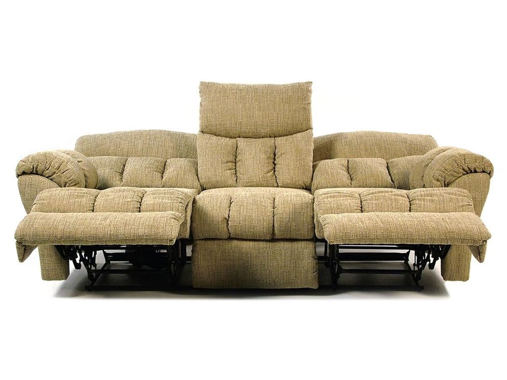 Design To Recline Full Relaxer Lay Flat Reclining Sofa Rotmans