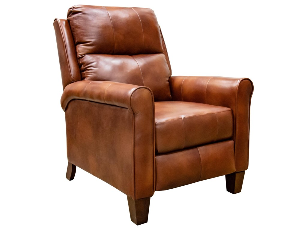 Southern Motion Pep TalkLeather Push Back Recliner