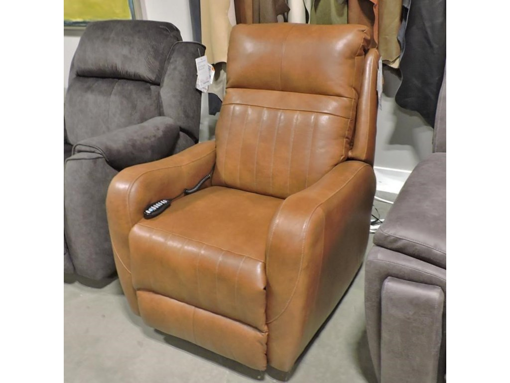Belfort Motion 5166Leather Power Recliner