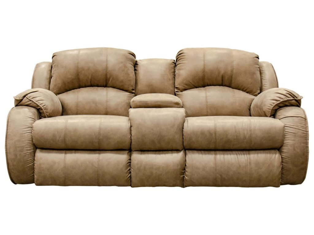 Southern Motion River RunPower Reclining Console Loveseat