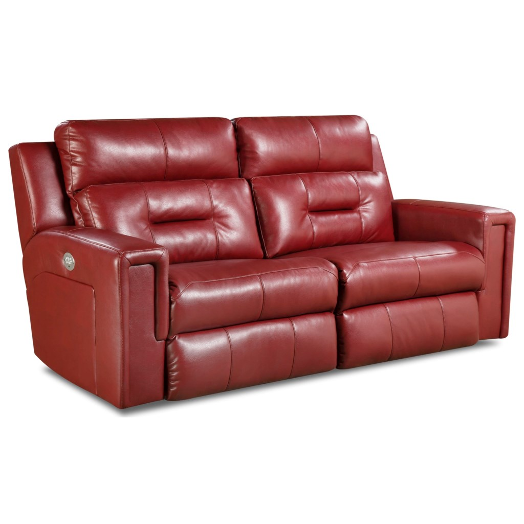 Southern Motion Excel Two Seat Reclining Sectional Hudson S  ~ Red Reclining Sectional Sofa