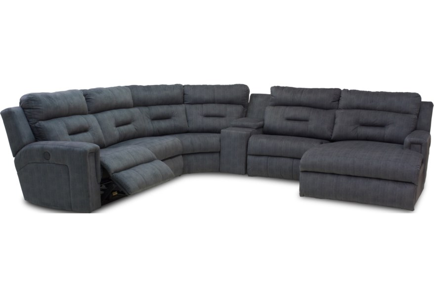 southern motion reclining sectional