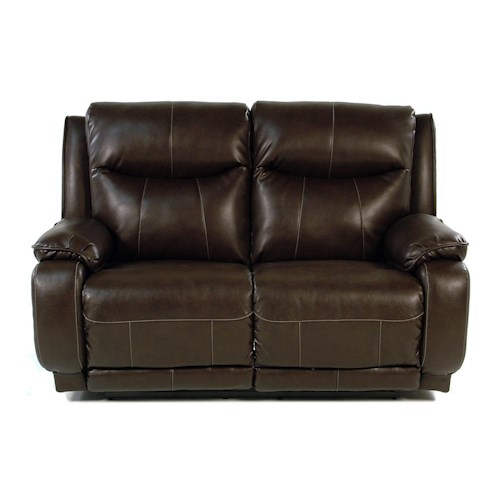 Design to Recline Power-Max Power Reclining Loveseat w/ Power Headrest
