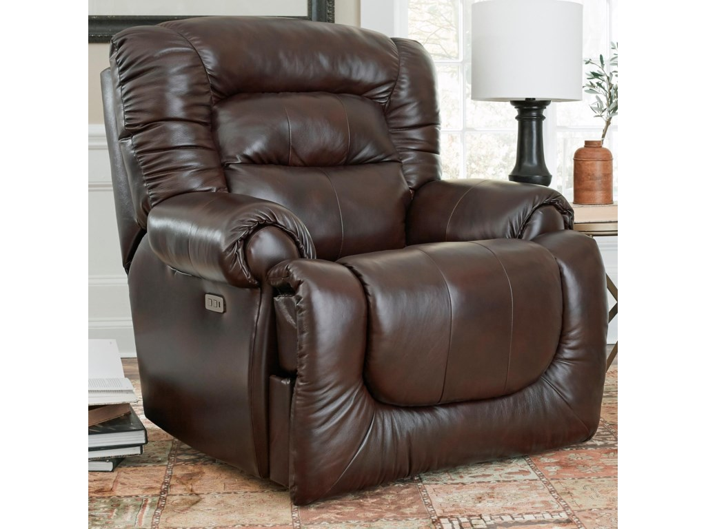 Southern Motion All StarPwr Headrest Big Man's Wall Hugger Recliner