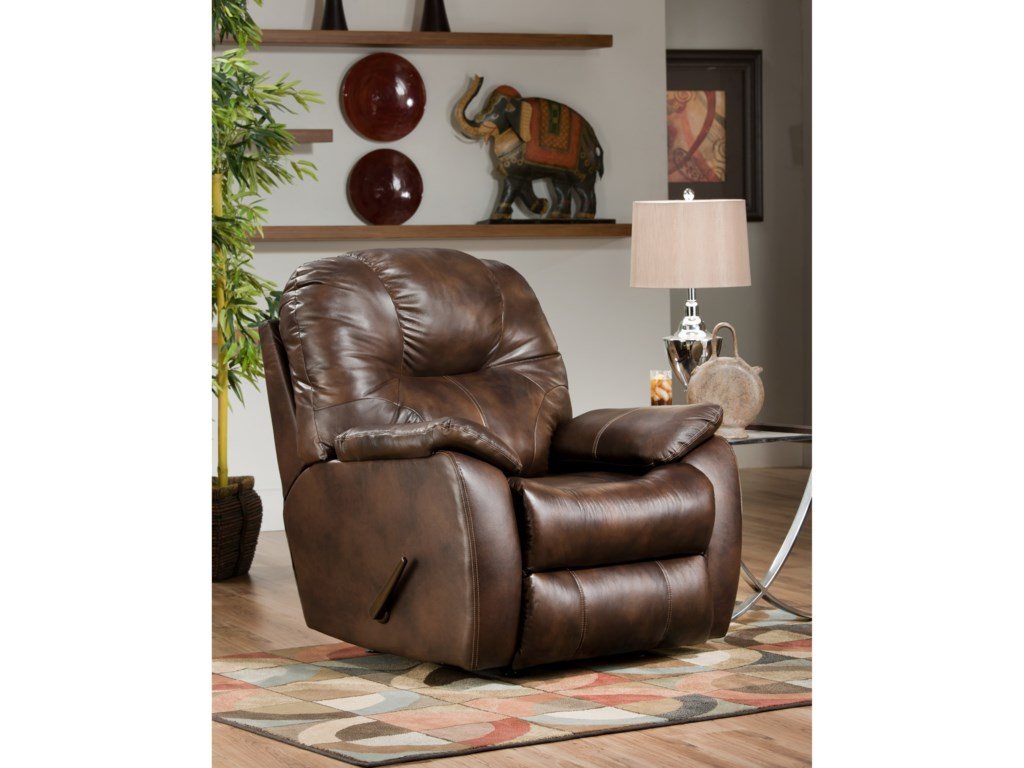 Southern Motion Avalon 5838p Lumb Power Rocker Recliner With Power