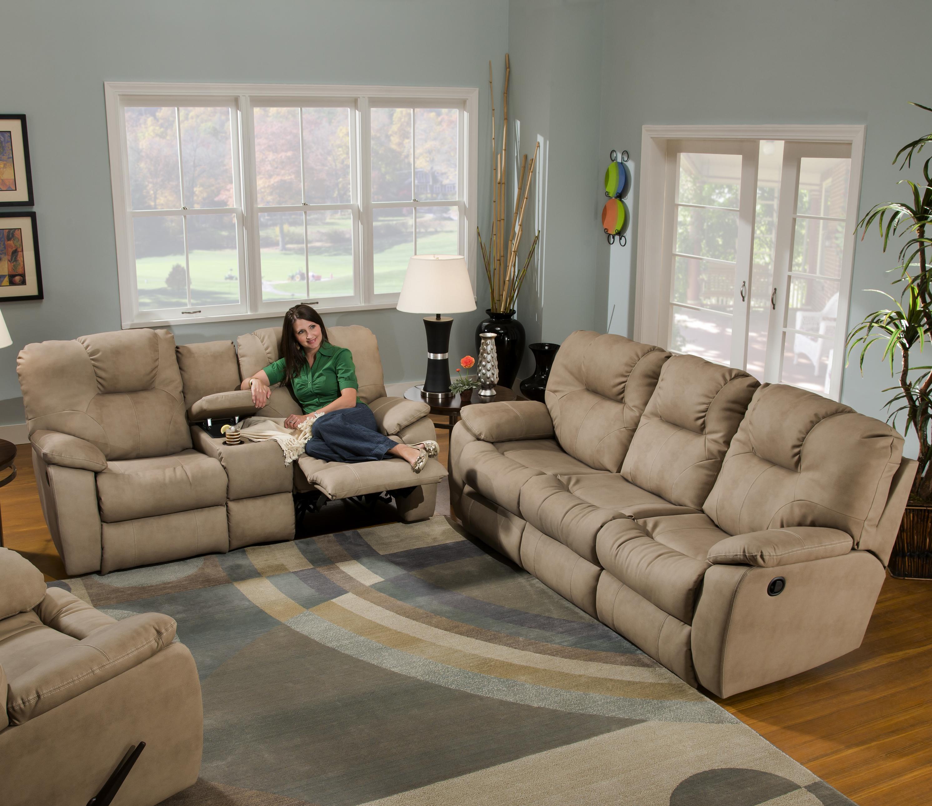 ... Southern Motion AvalonConsole Sofa