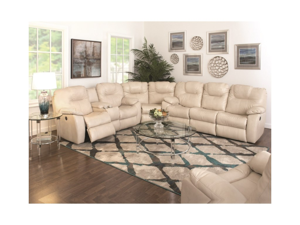 Southern Motion Avalon3 Pc. Sectional