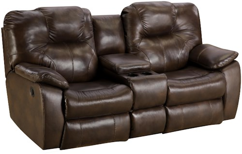 Design to Recline Avalon Power Reclining Sofa with Console