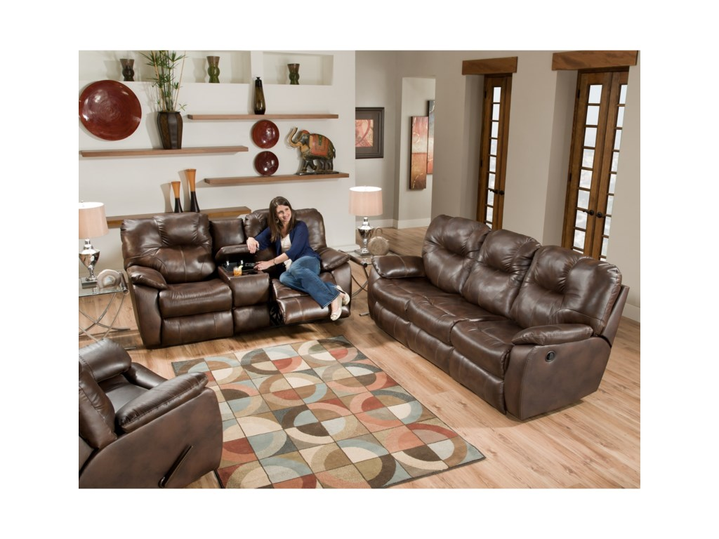 Southern Motion AvalonPower Reclining Sofa