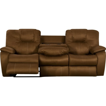 Power Sofa with Drop Down Table