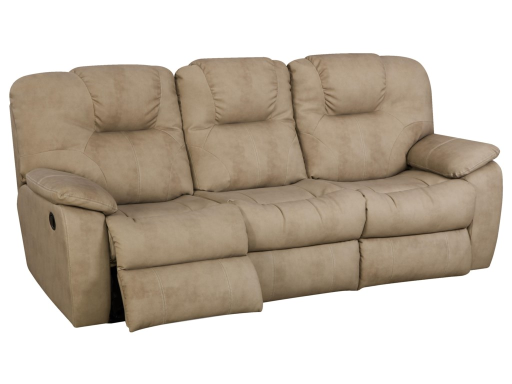 Southern Motion AvalonPower Sofa with Drop Down Table