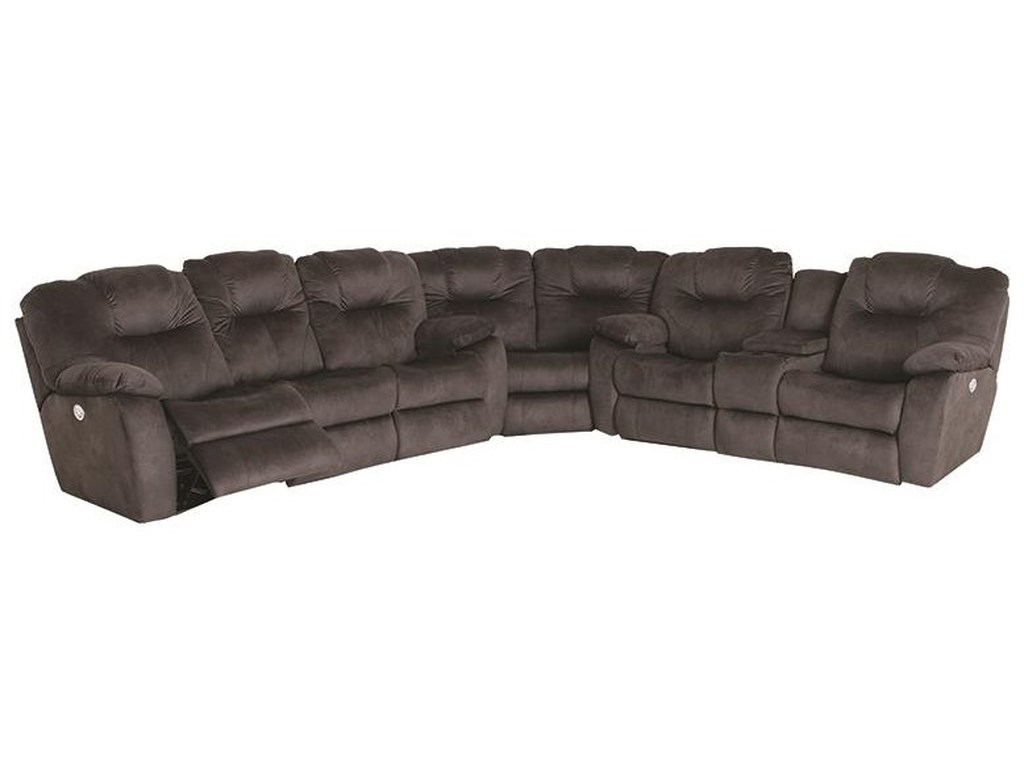 Southern Motion Avalon3 Piece Power Sectional