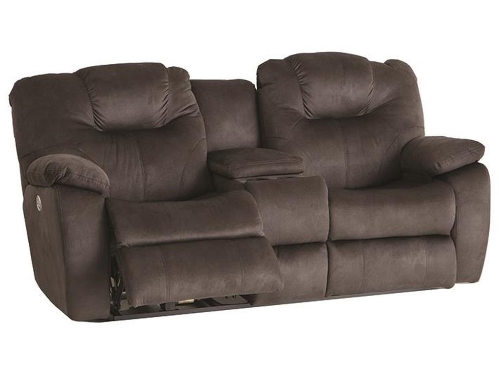 Southern Motion AvalonDual Reclining Power Console Loveseat With P