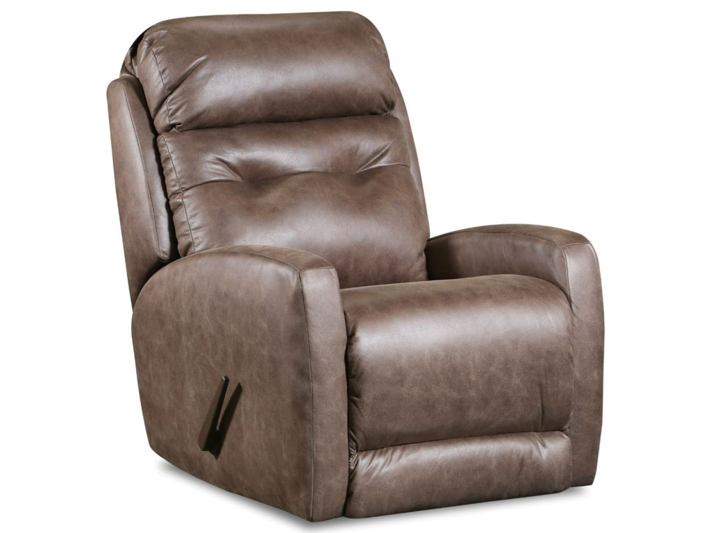 Southern Motion Bank ShotPower Headrest Layflat Recliner Lumbar