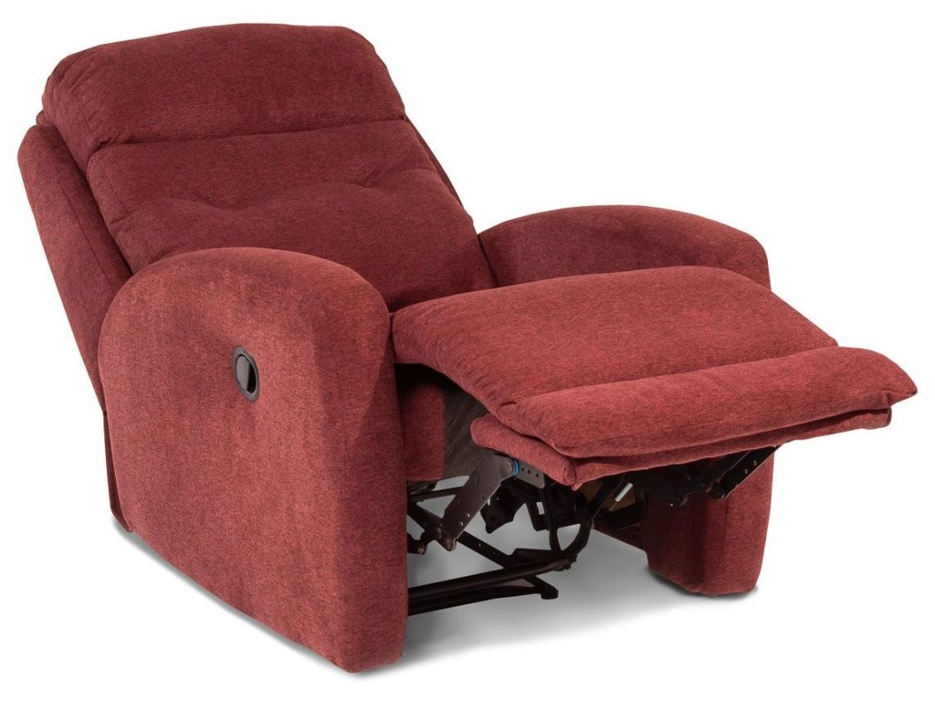 Design to Recline Bank ShotWall Hugger Recliner