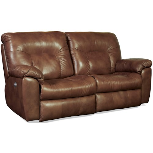 Southern Motion Big Shot Power Headrests Double Reclining Sofa with Two Seats