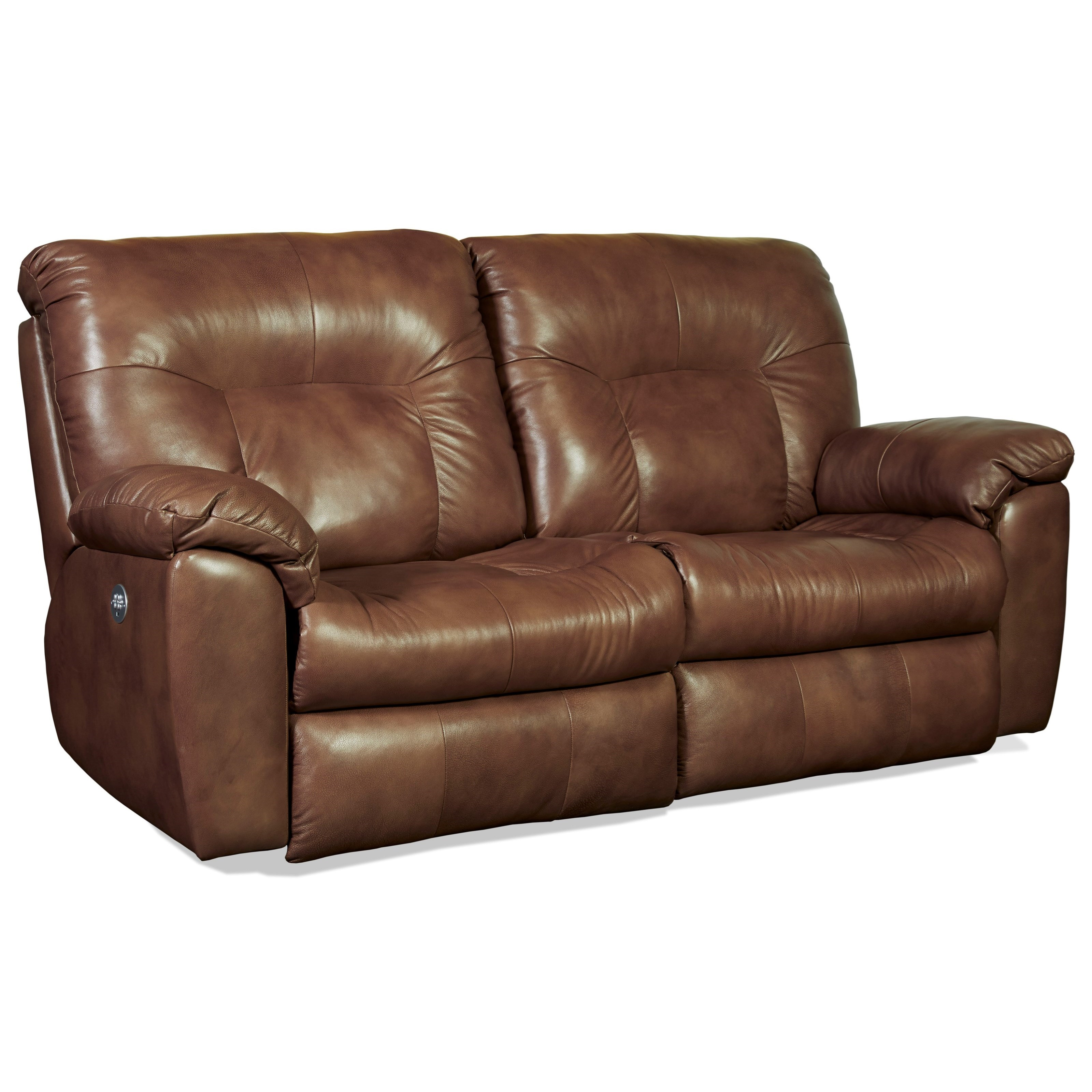 Southern Motion Big ShotPower Headrest Reclining Sofa With Two Seats