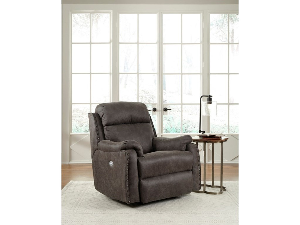 Southern Motion Blue Ribbon 5749 Rocker Recliner with Power Headrest ...