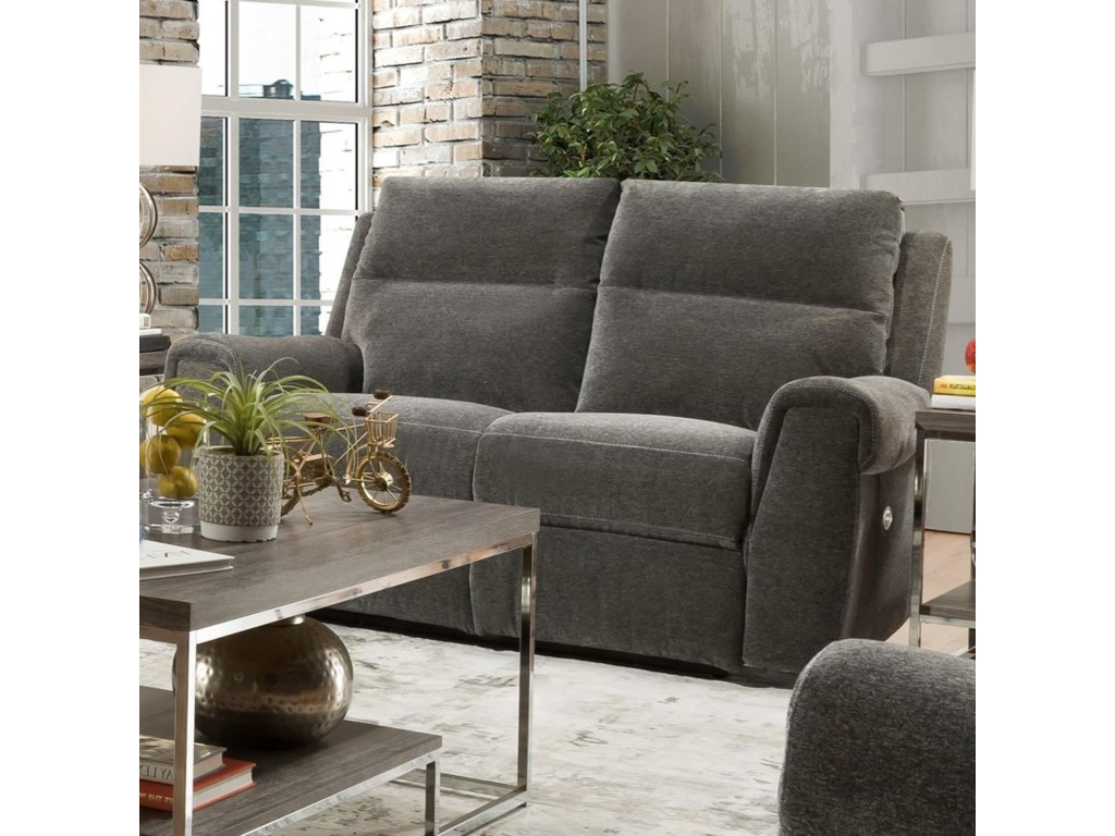 Southern Motion BraxtonDouble Reclining Power Loveseat