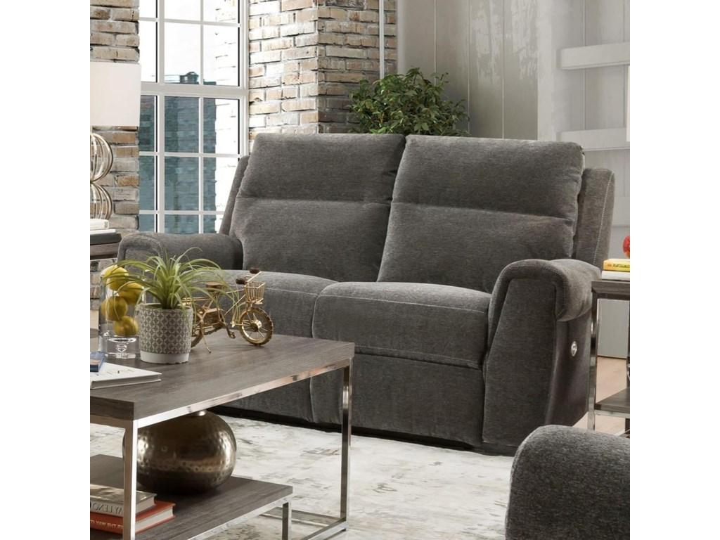 Southern Motion BraxtonDouble Reclining Power Plus Loveseat