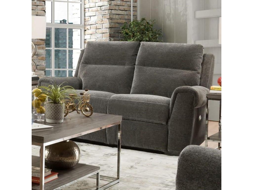 Southern Motion BraxtonPower Headrest Loveseat