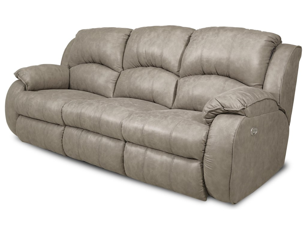 Southern Motion CagneyPower Reclining Sofa with Power Headrests