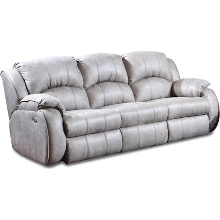 Powerized Double Reclining Sofa