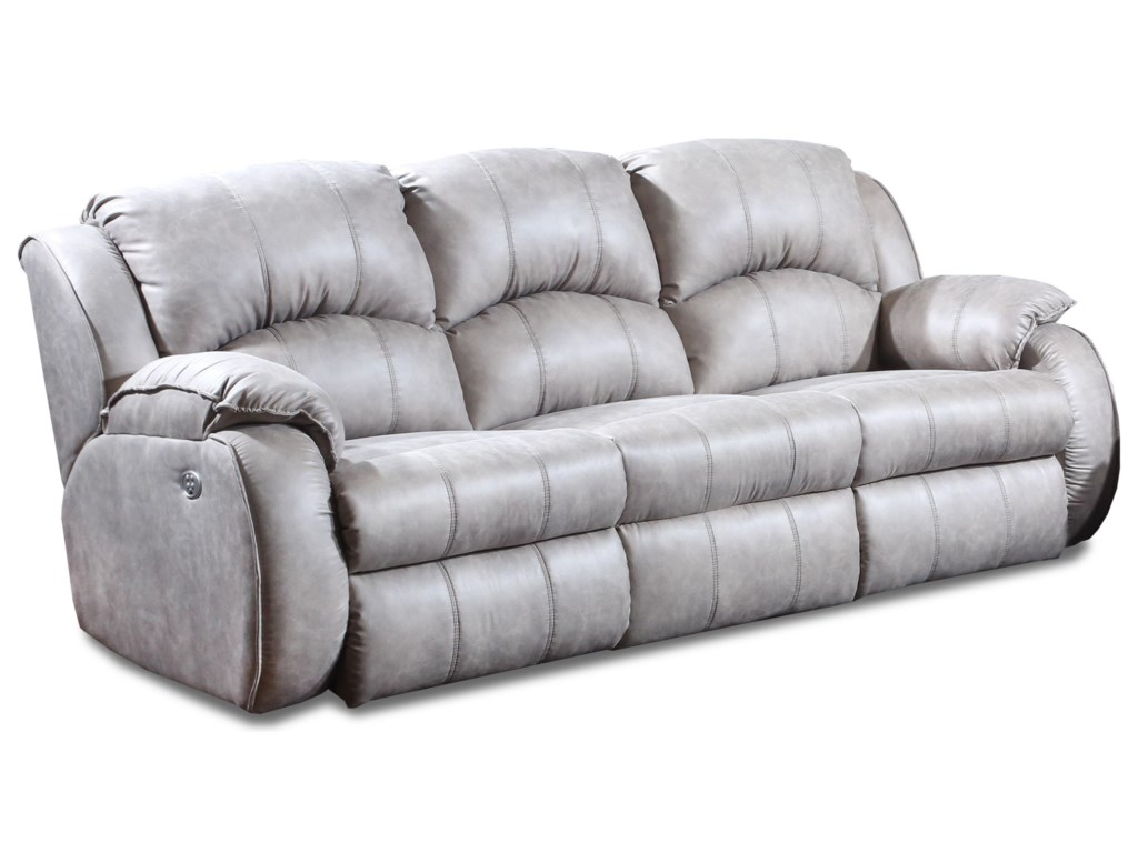 Southern Motion Cagneyized Double Reclining Sofa
