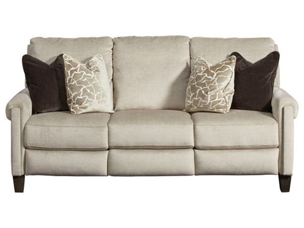 Southern Motion Cameron CoveDouble Reclining PowerPlus Sofa with Pillows