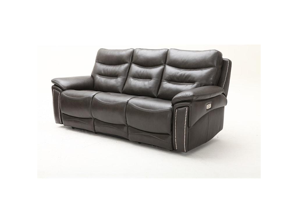 Southern Motion City LightsPower Headrest Sofa