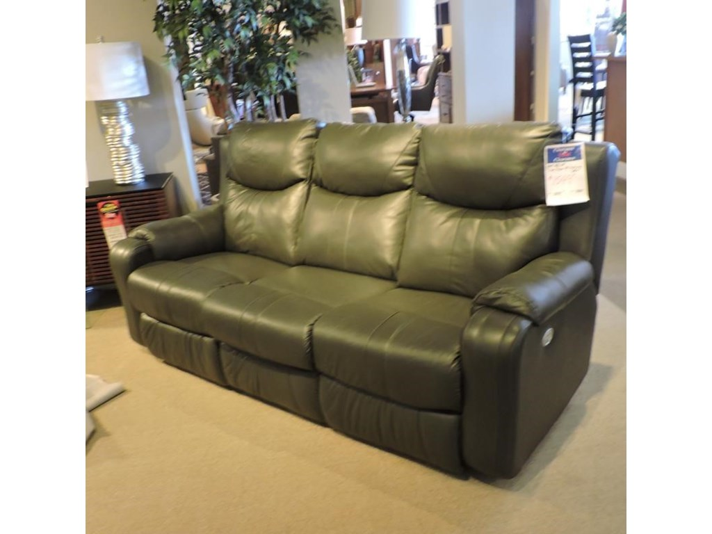 Belfort Motion ClearanceSilas Power Headrest Reclining Sofa