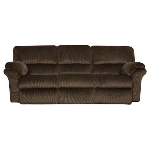 Southern Motion Cloud Nine Double Reclining Sofa with Casual Style