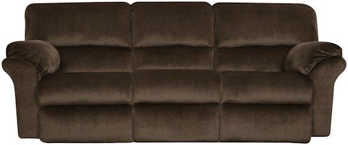 Design to Recline Cloud Nine Double Reclining Sofa with Casual Style