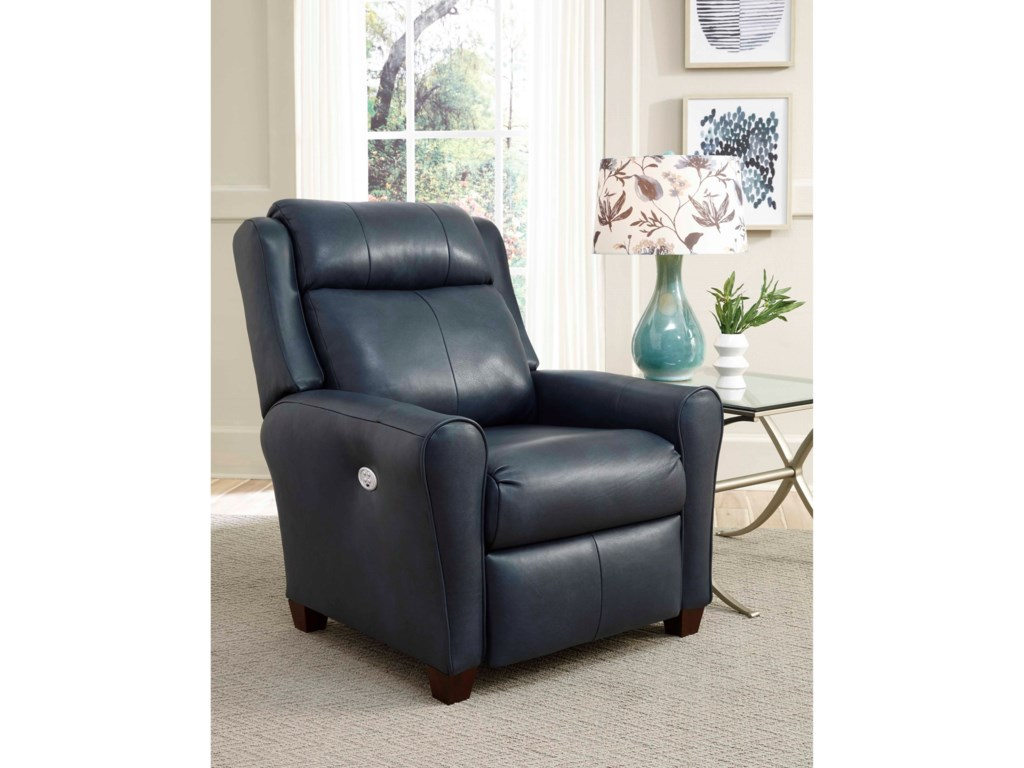 Southern Motion Cool SpringsPower Headrest Low-Leg Recliner w/ SoCozi