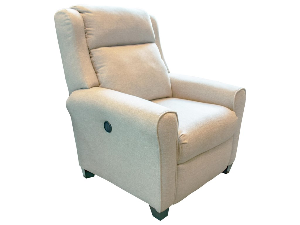 Southern Motion Cool SpringsBeige Power High-Leg Recliner