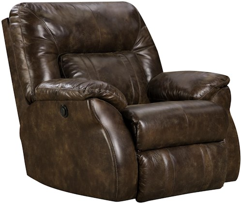 Design to Recline Cosmo  Power Rocker Recliner with Casual Style