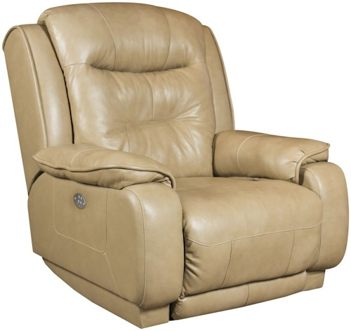 Southern Motion Crescent Wall Hugger Recliner with Power Headrest