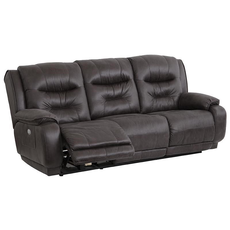 Southern Motion CrescentDouble Reclining Sofa With Power Headrest ...