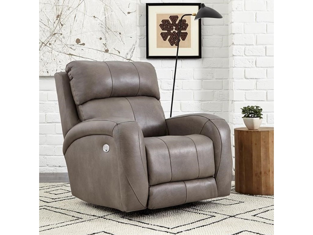 Southern Motion DawsonPower Headrest Layflat Recliner