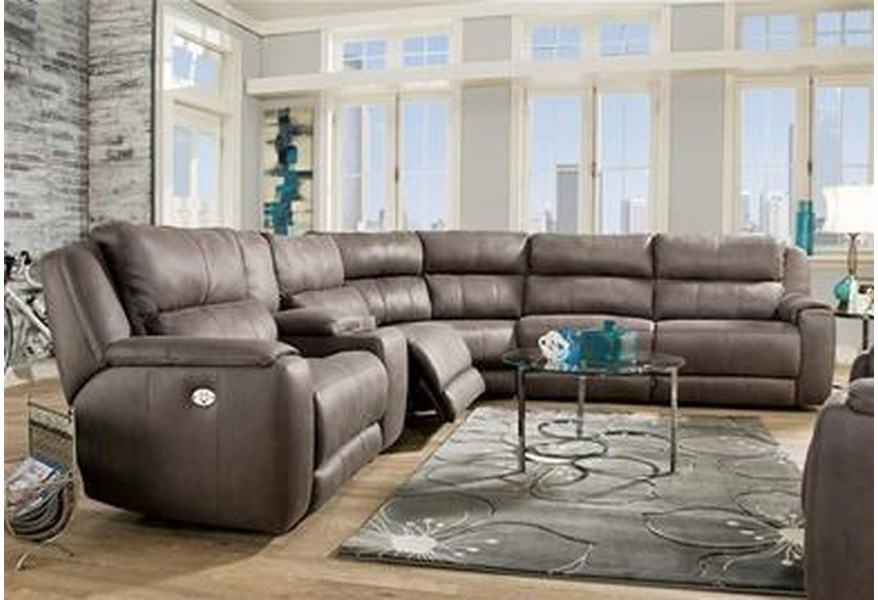Southern Motion Radiance Sectional Sofa