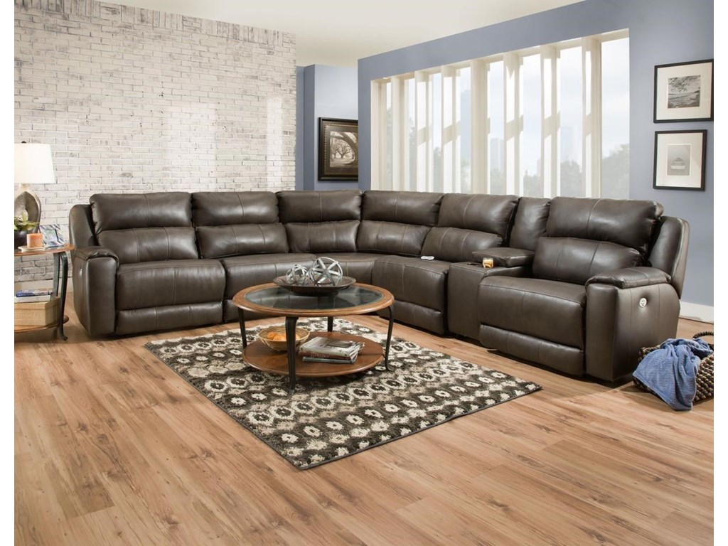 Belfort Motion JaxReclining Sectional