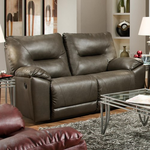 Southern Motion Dynamo Power Double Reclining Loveseat for Family Rooms