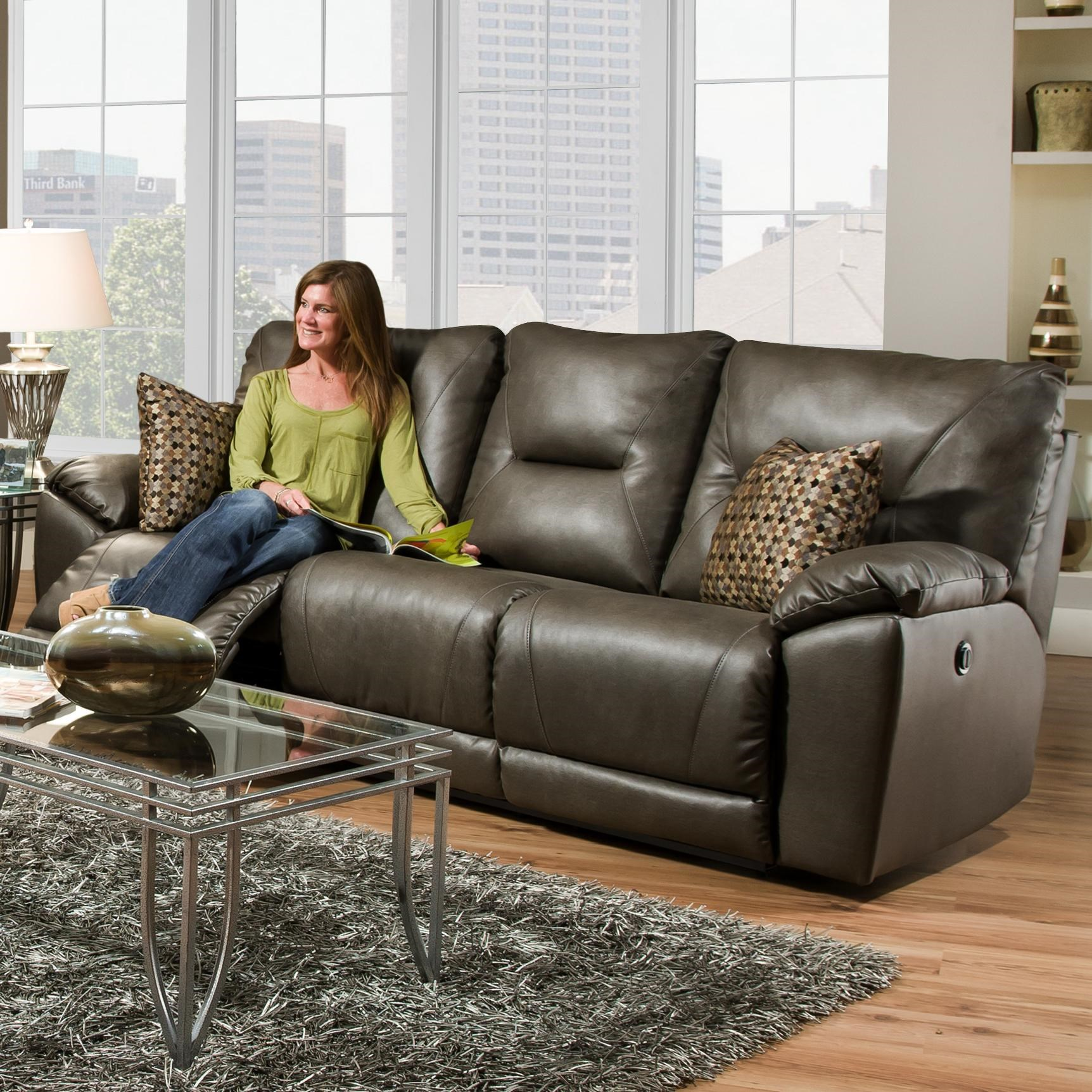Southern Motion Dynamo Double Reclining Sofa with Pillows for Family Rooms - Furniture and ApplianceMart - Reclining Sofas  sc 1 st  Furniture and ApplianceMart & Southern Motion Dynamo Double Reclining Sofa with Pillows for ... islam-shia.org