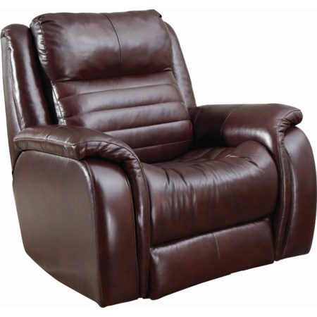 Power Headrest Rocker Recliner with SoCozi